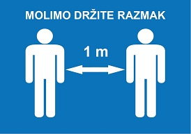 drzite razmak th
